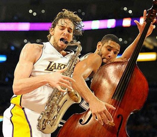 A tomar por culo el basket. Nosotros lo que queremos es tocar música