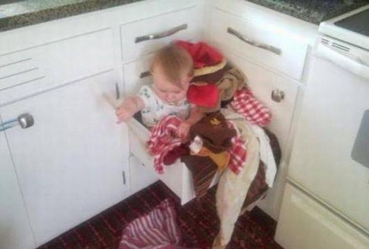 Mamis que improvisan cunas