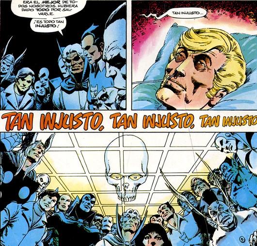 Guardemos un minuto de silencio por el Capi Marvel