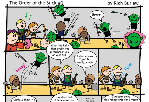 Así comienza la cosa para the ORder of the Stick