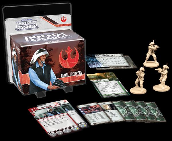 Rebel Troopers Ally Pack