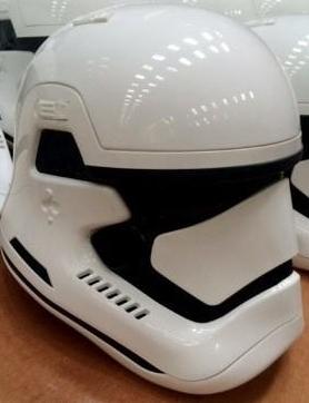Foto del casco que corría por la red