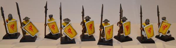 Hombres de armas de Bretonia