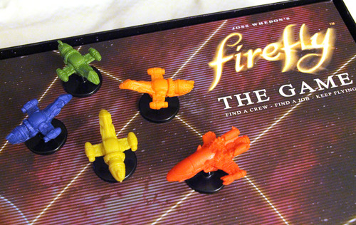 Cuatro naves de la clase Firefly