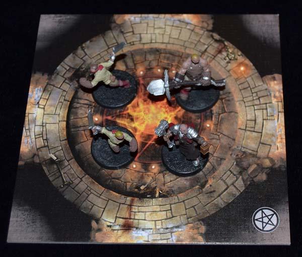 El jugador humano se prepara paa explorar