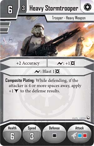Soldado Imperial con arma pesada.