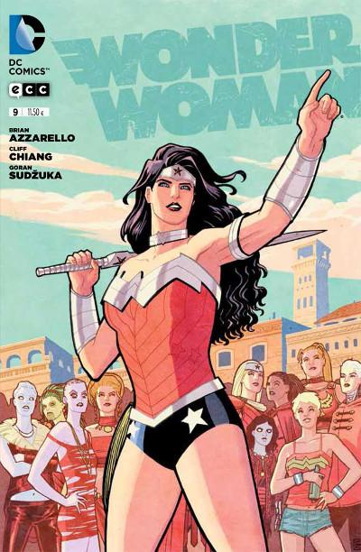 Wonder Woman con gente raruna