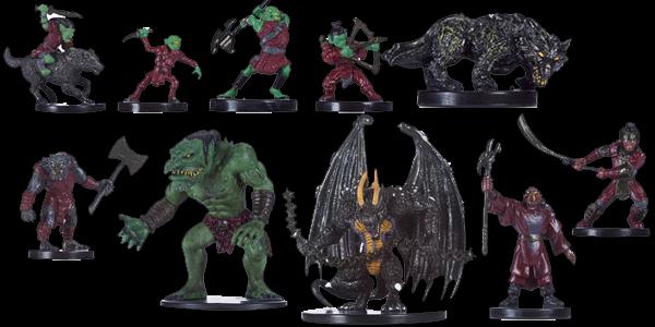 Miniaturas del Tyranny of Goblins.