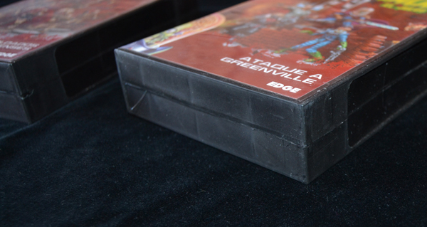 Es como tener una cinta VHS