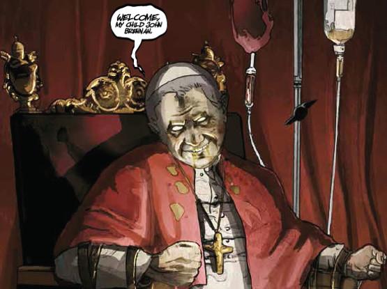 El Papa hecho un trapo