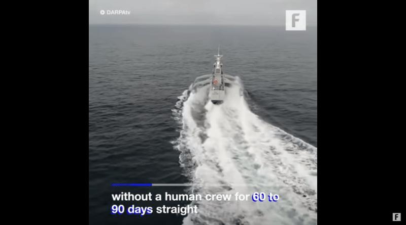 Mürettebatsız Otonom Savaş Gemisi 90 Gün Gidebiliyor