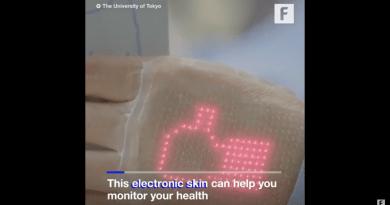 Giyilebilir E-Cilt Sizi Sağlıklı Tutuyor