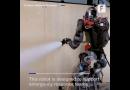 Yangın Söndüren İnsansı Robot