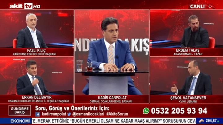 Şenol Vatansever, Akit TV'de Kadir Canpolat'la Gündeme Bakış'ta KVKK ile İlgili Merak Edilen Soruları Cevapladı
