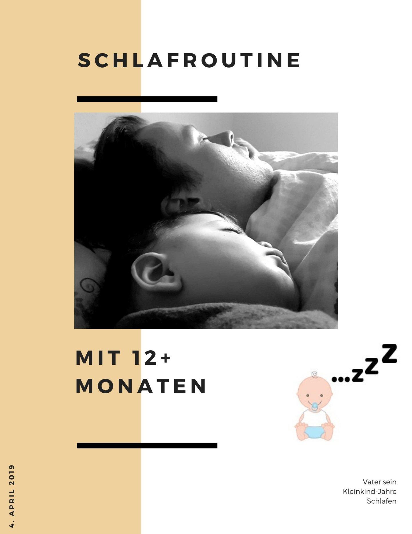 Schlafroutine mit 12+ Monaten
