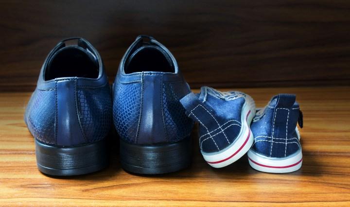 Vater Sohn Podcast - Schuhe