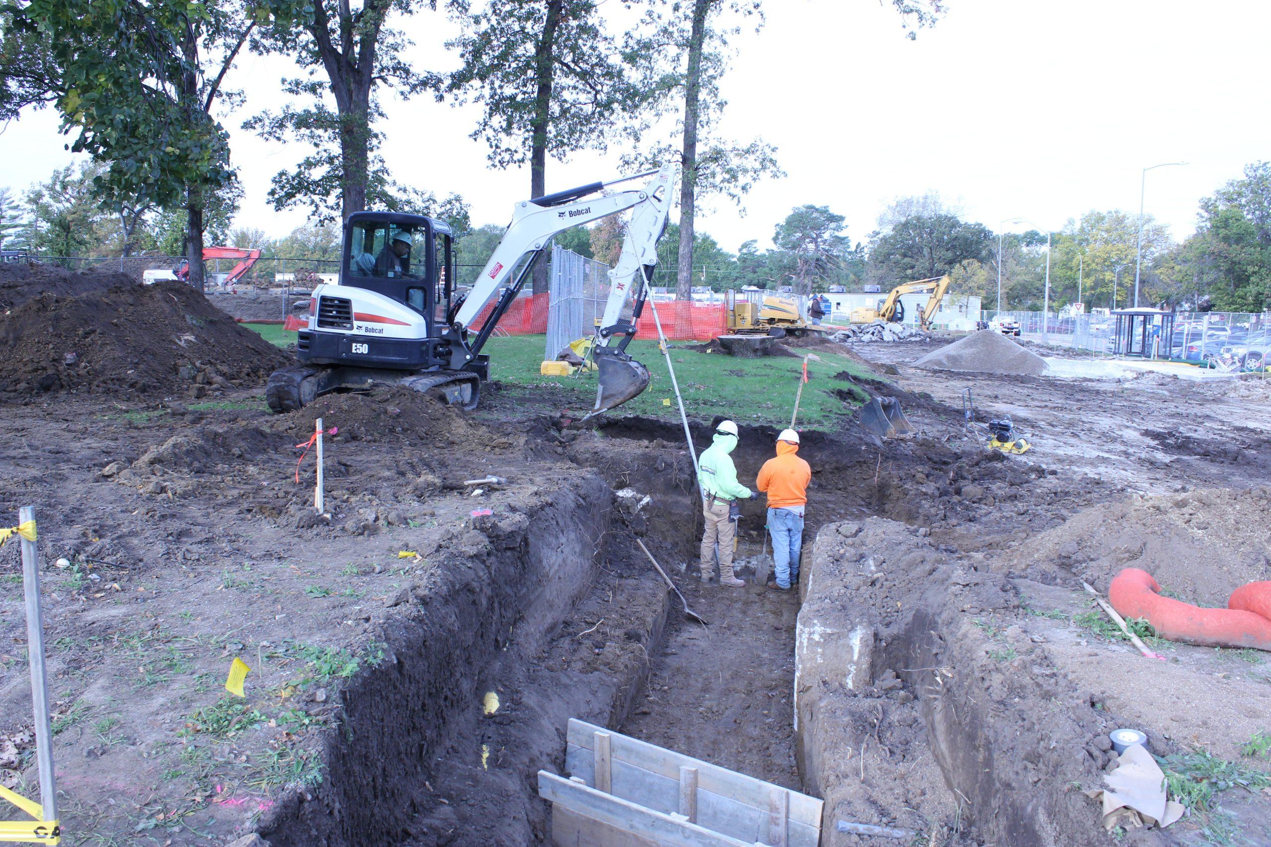 Digging Foorings