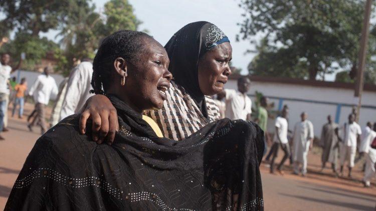 La détresse de femmes centrafricaines à Bangui face aux exactions commises dans le pays.