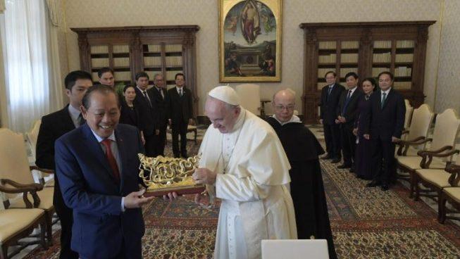 ĐGH tiếp Phó Thủ Tướng Trương Hòa Bình