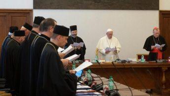 ĐTC gặp hội đồng Giáo hội Công giáo Đông phương Ucraina