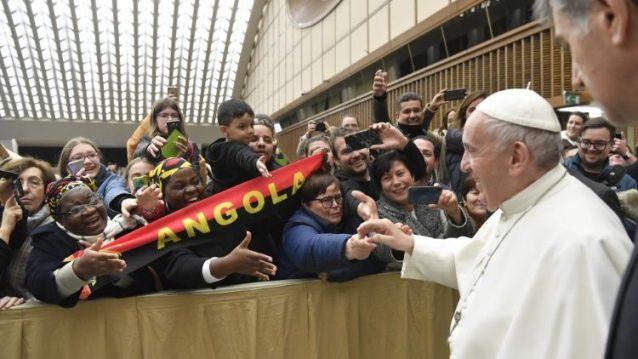 教皇フランシスコ、一般謁見
