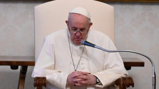 Pope Francis leads the weekly General Audience