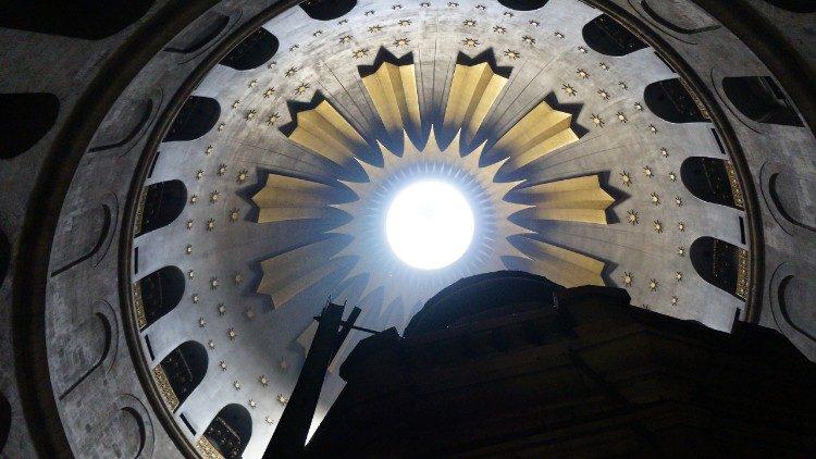 Santo Sepulcro, em Jerusalém