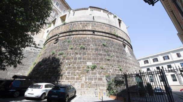 The headquarters of the Vatican Bank: IOR