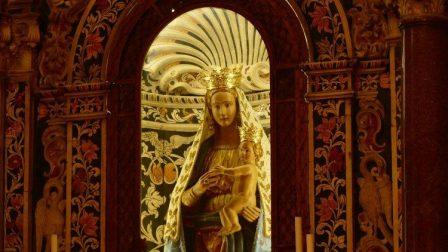 2019.12.13 statua della Madonna, Madre di Dio, Vergine Maria, Muttergottes Maria
