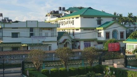 VG Hospital run by the Sisters of Maria Bambina in Dibrugarh, India.