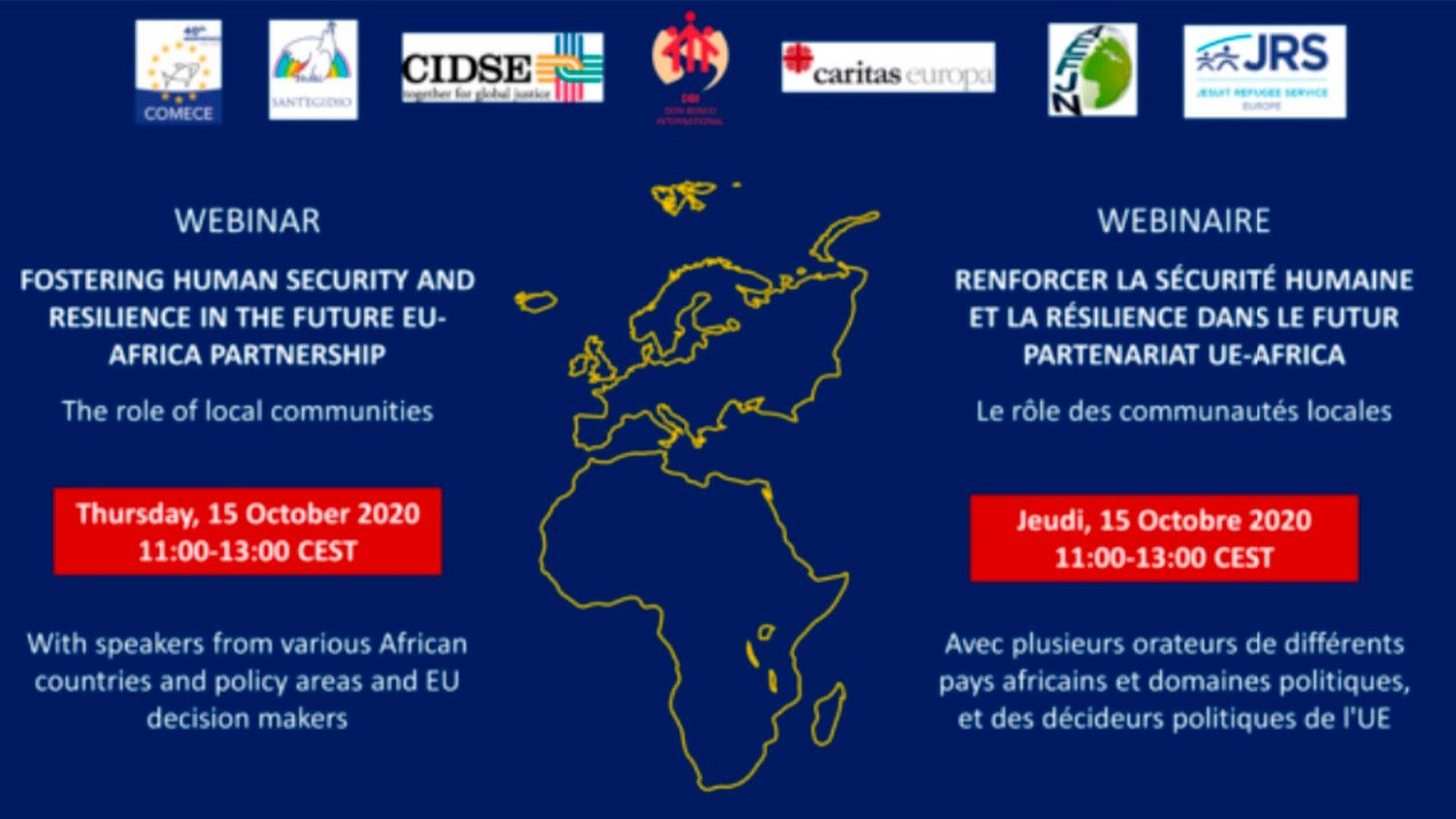 Human security and resilience highlighted at EU-Africa relations webinar - Vatican News