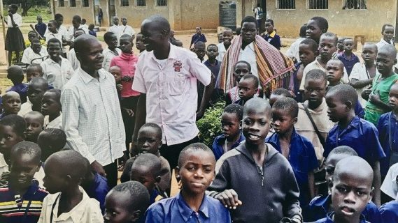 Catechists and students in Uganda