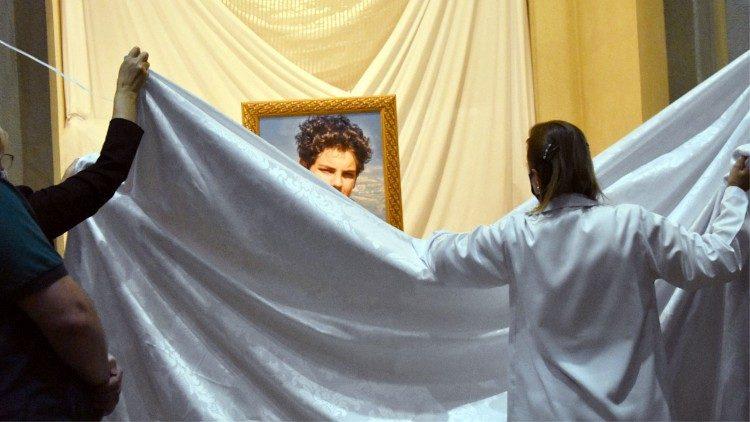 Carlo Acutis-Ausstellung in Brasilien