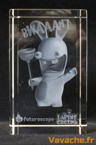 Bloc 3D Lapin Crétin Bwaaah