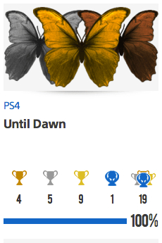 Platine Until Dawn