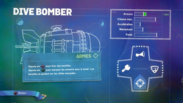 Dive Bomber Mods Armes