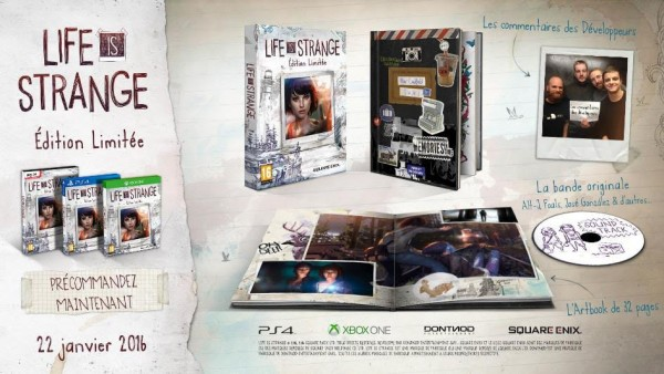 Life Is Strange Edition Limitée