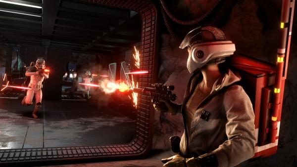 Star Wars Battlefront mode Cargaison