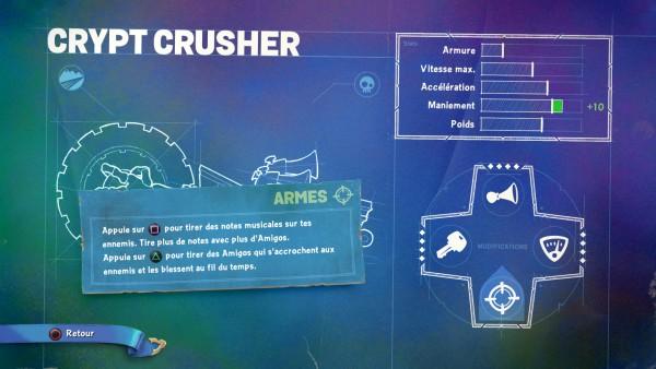 Skylanders Crypt Crusher Armes