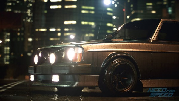 Need For Speed Volvo 242