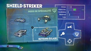Skylander SuperChargers Shield Striker Spécialité