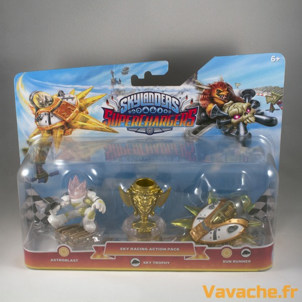 Skylanders SuperChargers Sky Racing Action Pack