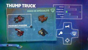 Skylander SuperChargers Thump Truck Spécialité