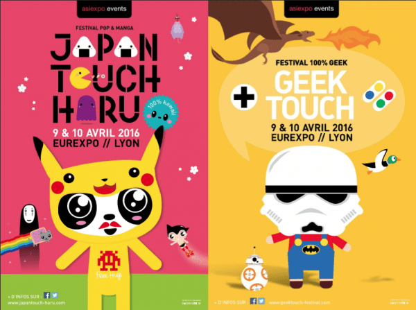 Affiche Japan Touche Haru Geek Touch