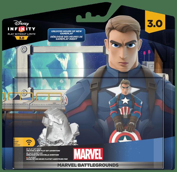 Disney Infinity 3.0 Pack Marvel Battlegrounds