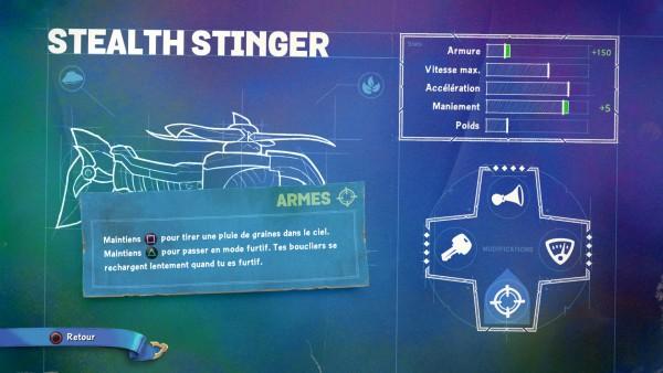 Skylanders SuperChargers Stealth Stinger Armes