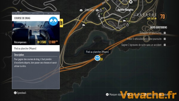 Need For Speed Reine du drag