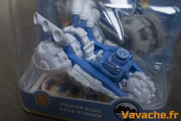 Skylanders SuperChargers Power Blue Gold Rusher