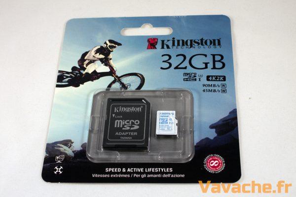 Kingston MicroSD Action Camera UHS-I U3 32GB