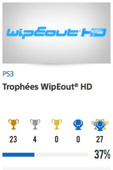 Progessison trophées WipeOut HD